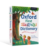 牛津幼儿插画版词典 英文原版工具书 Oxford First Illustrated Dictionary 英文版儿童