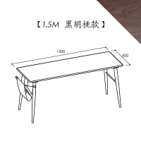 [/伦敦桥书桌]北欧家具 全实木 小户型学生电脑桌子 否
