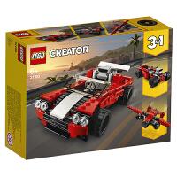 【当当自营】LEGO乐高积木创意百变系列Creator 31100 跑车男孩女孩 新年生日礼物 2020年3月上新