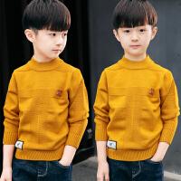 男童装毛衣套头中大童春秋冬款儿童针织衫毛衫韩版潮