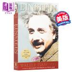 【中商原版】爱因斯坦传 英文原版Einstein: His Life and Universe 爱因斯坦传记和相对论