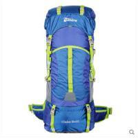 休闲包户外登山包双肩包旅行背包大容量防泼水露营旅游背包55+10L