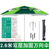 20180922080100380 钓鱼伞2.2米万向防雨户外钓鱼伞折叠遮阳防晒折叠垂钓伞渔具用品