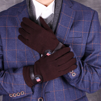 男士手套冬季韩版户外运动骑行触屏手套 加厚保暖手套