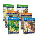 英文原版绘本 key words 3a 3b 3c 4a 4b 4c 6本套装分级阅读 内容贴近儿童生活学习的各种场景