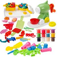 3d彩泥粘土手工制作带模型 儿童面条机玩具橡皮泥模具工具套装