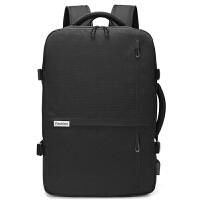 欧格商务双肩包男士背包17寸手提电脑包休闲多功能短途出差旅行包