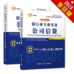 银行从业资格考试教材2018 大途官方教材公司信贷教材+历年真题+标准预测试卷(套装共2册)