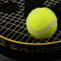 博卡网球初学者高弹性耐打训练网球耐磨初中级比赛专用按摩宠物球