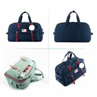 手提旅行包女男多功能大容量韩版甜甜圈包旅行袋行李包防水旅游包 大