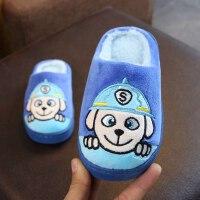 儿童棉拖鞋可爱女童宝宝居家拖鞋保暖防滑男童室内小孩拖鞋