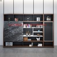 旗舰店办公室家具背景柜文件柜木质壁柜资料柜储物柜靠墙书柜展示柜子 400mm
