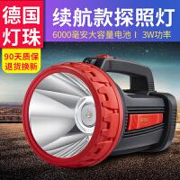 可充电强光LED手电筒 打猎超亮疝气灯3000远射程手提式探照灯