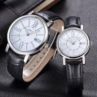 男士手表防水时尚款男 韩版潮流数字式石英情侣手表一对