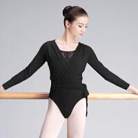 舞蹈毛衣成人女秋冬季长袖芭蕾舞服外搭小披肩保暖上衣练功服外套
