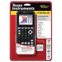 德州仪器TI-84 PLUS CE 彩屏图形绘图84ce计算器 SAT/AP考试