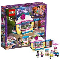 【当当自营】乐高LEGO 好朋友系列 41366 奥莉薇亚的草莓蛋糕咖啡店