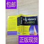 [二手旧书9成新]U.S. History For Dummies 美国历史达人迷 第2版