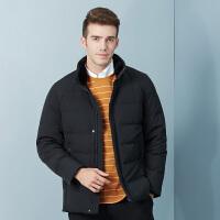 坦博尔加厚羽绒服2019冬季新款立领男士时尚羽绒外套上衣TA18557