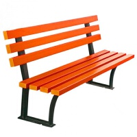 户外公园椅子长椅排椅长条椅长凳子休闲椅塑木实木室外座椅