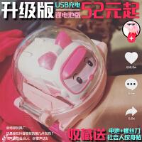 抖音同款车手表玩具社会人迷你遥控小汽车表带网红安巴遥控车儿童
