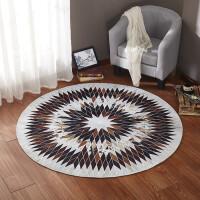 北欧几何圆形地毯客厅茶几垫书房地垫卧室床边毯衣帽间椅子垫