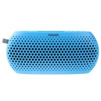 【当当自营】 Philips飞利浦 SBM130/93 迷你音箱便携插卡小音响收音机户外低音炮 蓝色