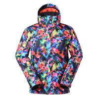 男士滑雪服冲锋衣 男款冬季保暖单板双板滑雪衣 1416-003