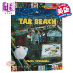 【中商原版】Tar Beach 沥青海滩 凯迪克银奖绘本 进口英文原版 焦油海滩 Faith Ringgold经典作品