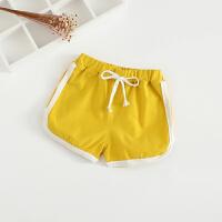 儿童短裤外穿夏季小童中裤宝宝男童沙滩裤子童装薄款棉女童热裤