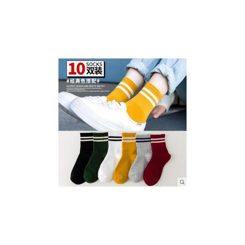 袜子女秋季中筒袜韩版学院风纯棉长筒女袜冬季女士棉袜秋冬款长袜