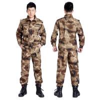 户外拓展训练服运动 军训数码军迷服套装 军迷装备 荒漠枪迷小绿点多款迷彩