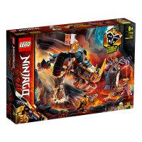 【当当自营】LEGO乐高积木 幻影忍者Ninjago系列 71719 赞的米诺巨兽 玩具礼物