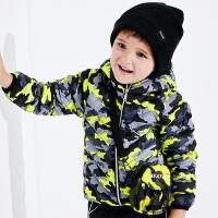 【2件3折到手价:150】小猪班纳儿童羽绒服轻薄款男童冬季童装宝宝外套连帽外衣小童上衣