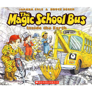 Magic School Bus Inside the Earth神奇校车-地球深处 9780590407601