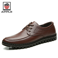 Apple苹果 男鞋皮鞋男英伦男士商务正装系带休闲鞋 5291076