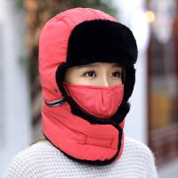 帽子男士冬季韩版可爱保暖加厚帽女冬天骑车防风儿童小孩棉帽新品