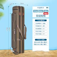 鱼包双肩渔具包防水1.25米三层多功能鱼竿包钓鱼包