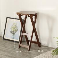 实木折叠凳子家用便携矮凳现代简约餐厅厨房北欧吧凳餐凳化妆凳