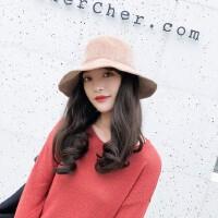 韩版chic针织帽女 日系文艺毛线帽子女 雪尼尔渔夫帽女 新款百搭潮盆帽
