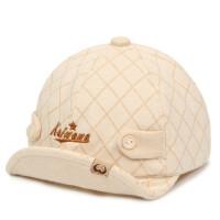 彩棉帽子男女宝宝鸭舌帽卡通翘舌棒球帽遮阳帽棉