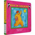 英文原版 Bear in Sunshine 阳光下的比尔熊 纸板书 Barefoot