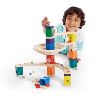 Hape夸得瑞拉基本套4-99岁轨道滑道积木木质玩具婴幼玩具木制玩具E6005