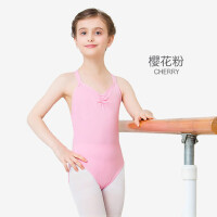 儿童舞蹈服装女童练功服少儿体操芭蕾舞服吊带演出服