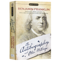 正版 富兰克林自传及作品集 英文原版名人传记 The Autobiography and Other Writings