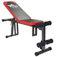 多功能可折叠哑铃凳仰卧板卧推健腹板健身椅家用健身器材
