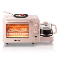 小熊(Bear)电烤箱 烤面包机多士炉全自动家用小型多功能烤箱三合一早餐机 DSL-C02B1