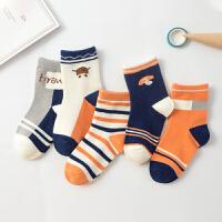 儿童袜子时尚纯棉春秋冬厚款童袜男童女童宝宝棉袜中大童中筒婴儿袜子