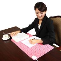 办公室加热保暖桌垫电脑暖手桌面发热垫电热板书写台板写字台书写垫鼠标
