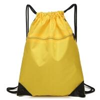 防水束口袋抽绳双肩包 男女户外大容量旅游旅行包跑步运动收纳包